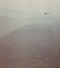Helicopter over Viet Nam