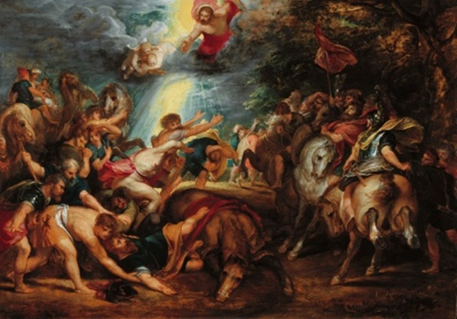 Paul conversion by Rubens